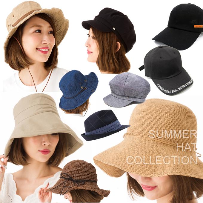 夏 帽子 ハット コレクション.jpg