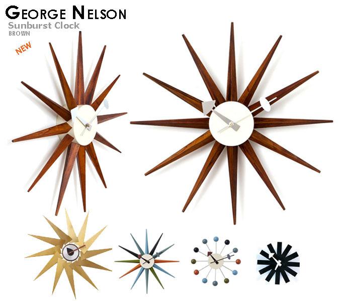 George Nelson ジョージネルソン サンバーストクロック.jpg