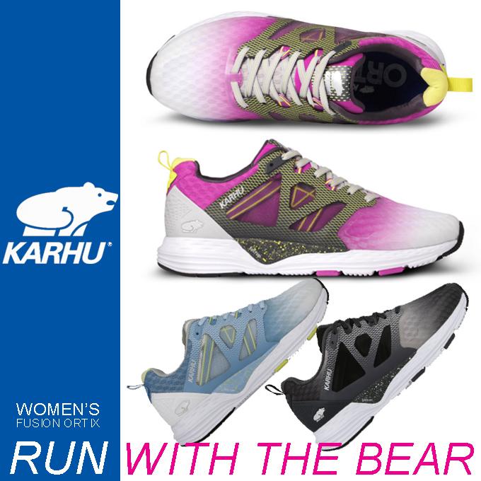 KARHU カルフ WOMEN'S FUSION ORTIX ランニングスニーカー.jpg