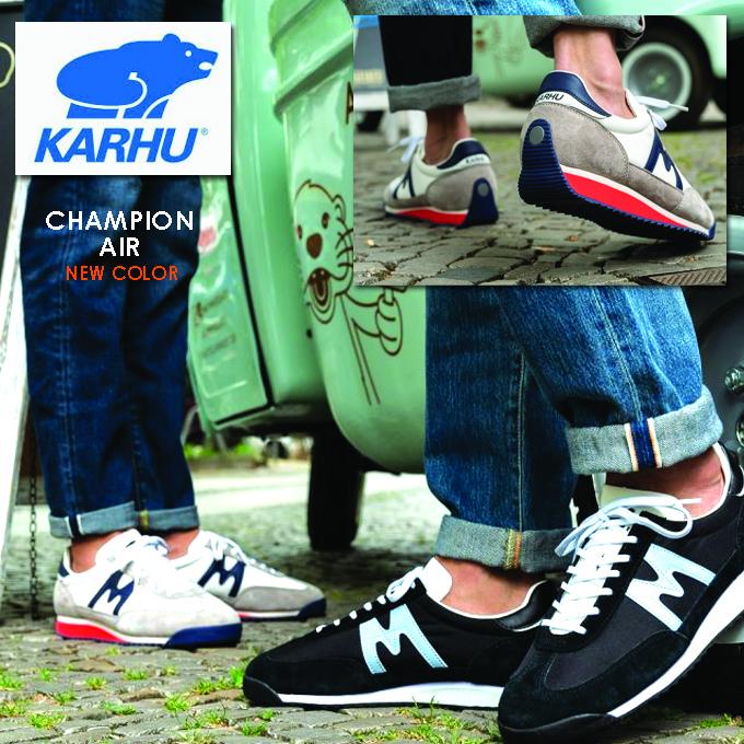 KARHU カルフ スニーカー チャンピオンエア 新カラー.jpg