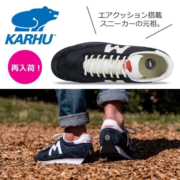 KARHUカルフ チャンピオンエア スニーカー KH 805010 ナイトスカイ/ホワイト.jpg