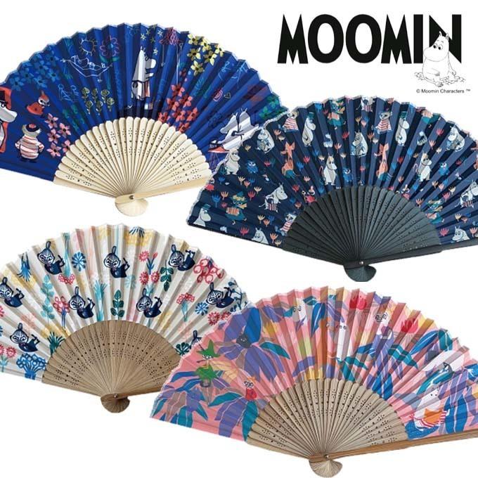 MOOMIN ムーミン 扇子 ギフト 涼しい 夏.jpg