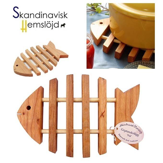 SKANDINAVISK HEMSLOJD ポットマット 鍋敷き フィッシュ 魚 北欧.jpg