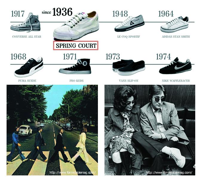 Spring Courtスプリングコート スニーカー Sneaker history.jpg