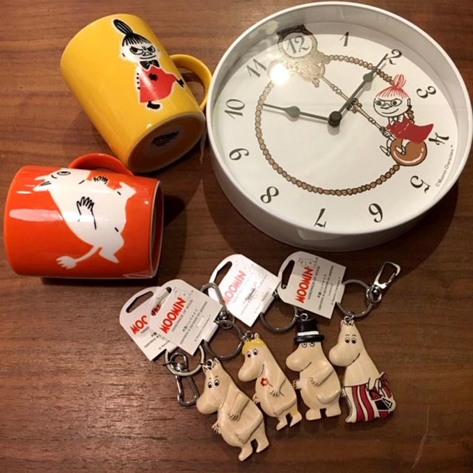 moominムーミン 掛け時計 マグ キーホルダー 雑貨.jpg
